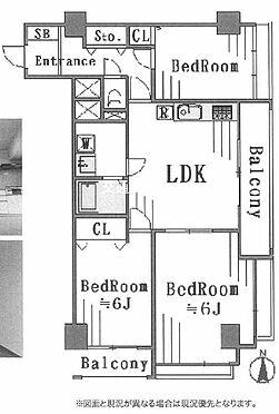 マンション(建物一部)-足立区竹の塚3丁目 間取り