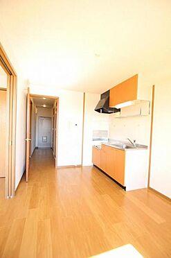 アパート-水戸市住吉町 木の温もりが優しいフローリング