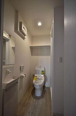アパート-足立区加平1丁目 トイレ