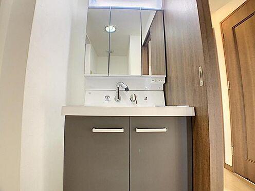 区分マンション-名古屋市南区豊2丁目 小物収納が豊富な洗髪洗面化粧台!