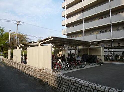 マンション(建物一部)-大阪市東住吉区今林4丁目 屋根付きの駐輪場あり