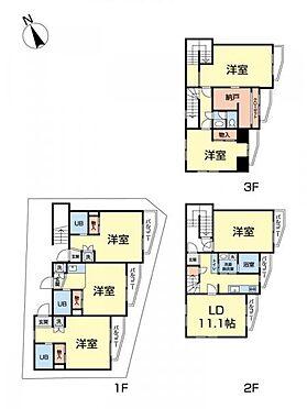 一棟マンション-新宿区北新宿3丁目 間取り図