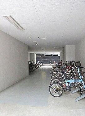 マンション(建物一部)-大阪市浪速区敷津西1丁目 広々とした駐輪スペース