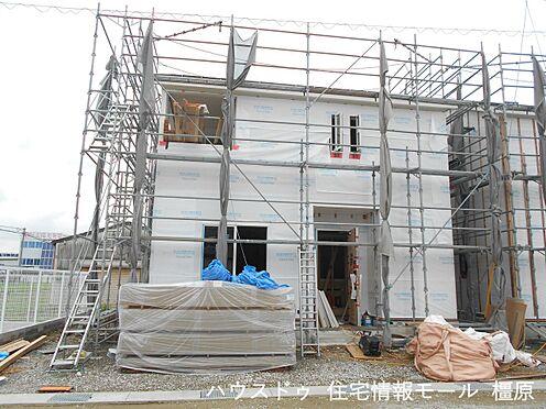 戸建賃貸-磯城郡田原本町大字阪手 建築工事が始まりました。基礎や構造部分もしっかりご確認頂けます。モデルルームへのご案内も可能です。