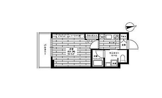 マンション(建物一部)-板橋区桜川2丁目 間取り