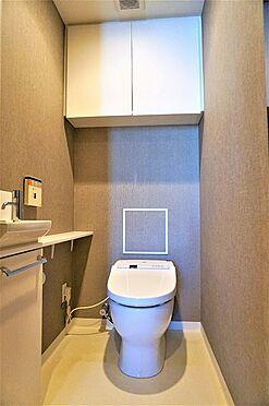 中古マンション-江東区豊洲3丁目 手洗付タンクレストイレ