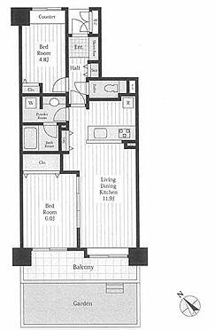 マンション(建物一部)-さいたま市中央区上落合3丁目 間取り