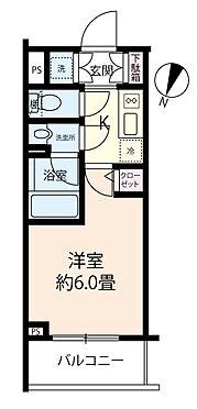 区分マンション-足立区西綾瀬1丁目 【間取り】