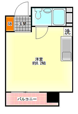 区分マンション-大阪市中央区南船場2丁目 図面より現況を優先します。