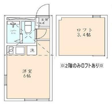 アパート-横浜市南区八幡町 間取り