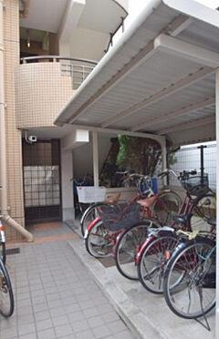 中古マンション-大阪市東成区東中本2丁目 駐輪場です