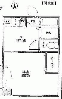 マンション(建物一部)-さいたま市南区白幡2丁目 間取り