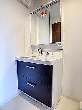 中古一戸建て-福岡市早良区飯倉4丁目 収納豊富な洗面台です。