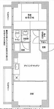 中古マンション-新宿区新宿4丁目 間取り