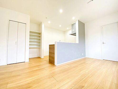 新築一戸建て-福岡市南区西長住3丁目 キッチン周りの収納充実しております!