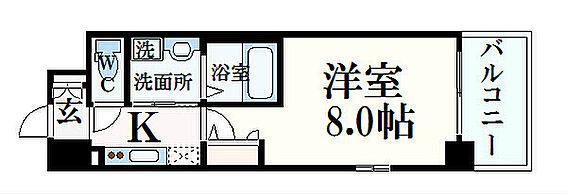 マンション(建物一部)-神戸市灘区鹿ノ下通3丁目 単身者向け1K