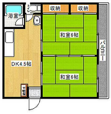マンション(建物一部)-京都市左京区聖護院山王町 間取り