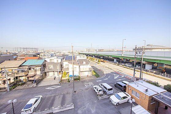 区分マンション-名古屋市南区東又兵ヱ町3丁目 お部屋からの眺望。高層階の為見晴らしがいいです。