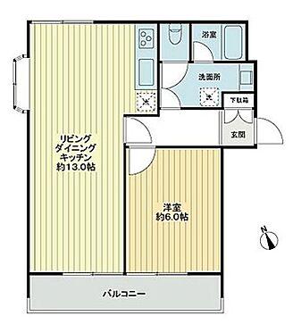 マンション(建物一部)-藤沢市羽鳥3丁目 間取り