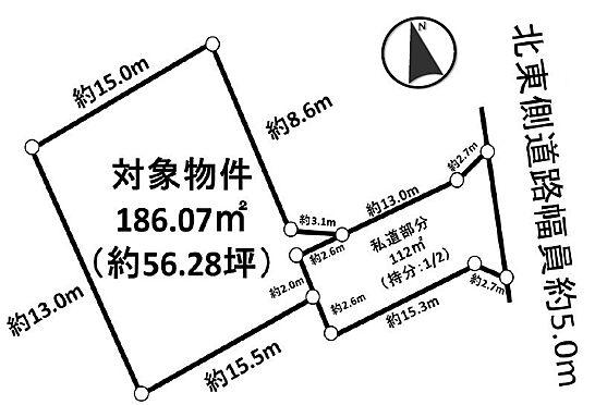 土地-東海市加木屋町小家ノ脇 区画図
