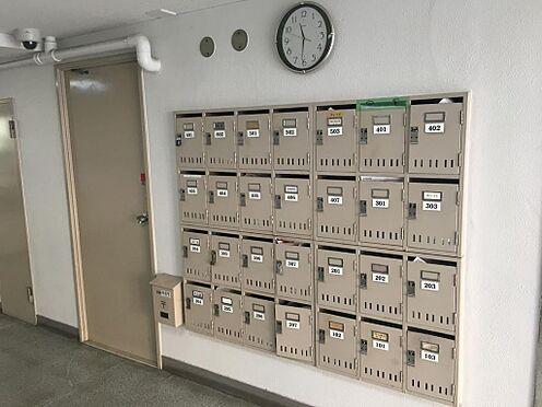 マンション(建物一部)-新宿区左門町 集合ポストの写真です。