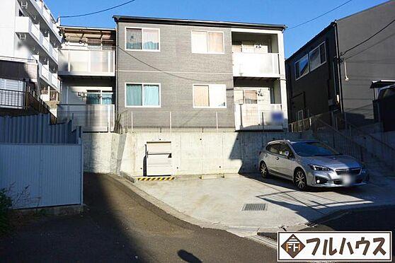 アパート-仙台市青葉区旭ケ丘1丁目 前面道路含む現地外観写真