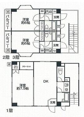 マンション(建物全部)-豊島区西池袋3丁目 間取り