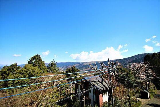 中古一戸建て-田方郡函南町畑 【眺望2】富士山だけではなく丹那の稜線や山の自然を大いに感じることができます。