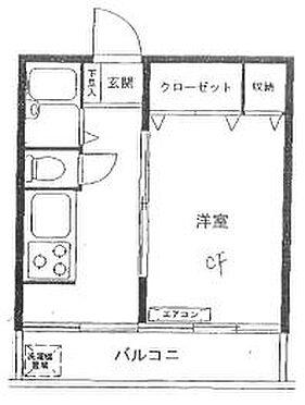 区分マンション-品川区西大井4丁目 間取り