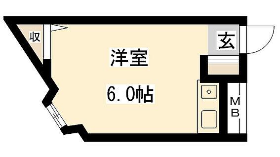 マンション(建物全部)-大阪市旭区千林1丁目 間取り