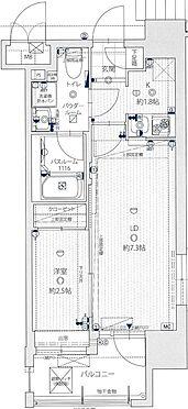マンション(建物一部)-福岡市博多区対馬小路 間取り