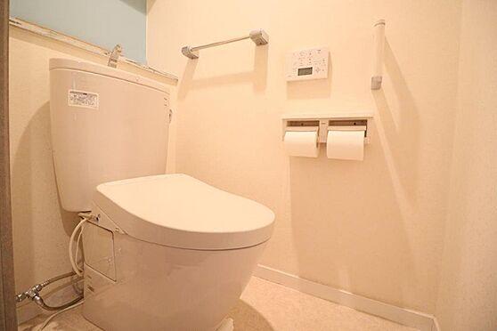 中古マンション-八王子市下柚木2丁目 節水タイプのトイレ