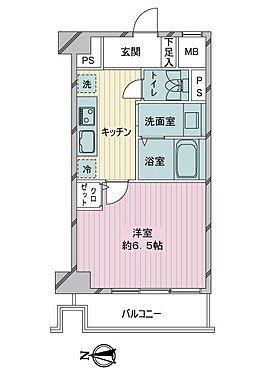 区分マンション-墨田区横川4丁目 間取り