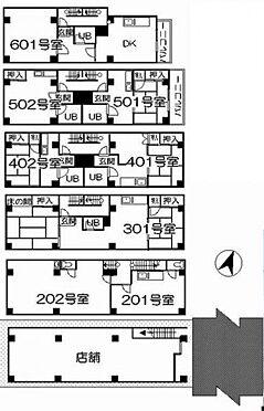 一棟マンション-豊島区駒込1丁目 間取り