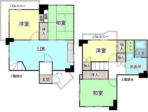 マンション(建物一部)-和泉市光明台1丁目 4LDK メゾネットタイプ