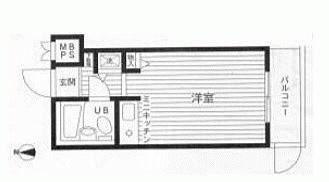 マンション(建物一部)-相模原市中央区鹿沼台1丁目 間取り