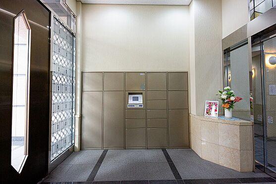 中古マンション-練馬区練馬1丁目 宅配ロッカー 便利な24時間対応