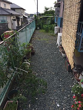 アパート-磐田市西貝塚 南面より
