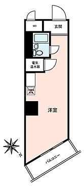 マンション(建物一部)-品川区東五反田5丁目 間取り