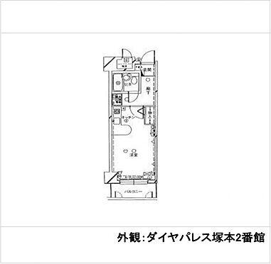 マンション(建物一部)-大阪市西淀川区野里1丁目 室内洗濯機置場・オートロック完備