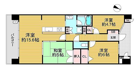 マンション(建物一部)-大阪市此花区春日出南3丁目 間取り