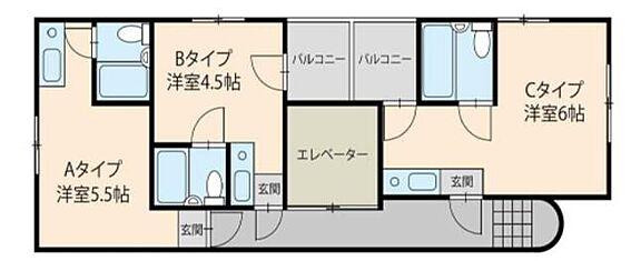マンション(建物全部)-大阪市東住吉区駒川4丁目 間取り