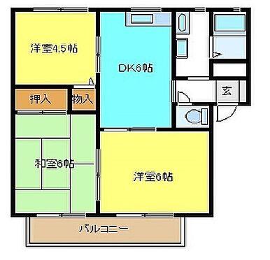 アパート-和泉市東阪本町 間取り