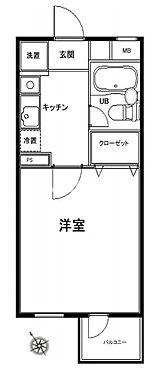 マンション(建物一部)-渋谷区上原1丁目 間取り