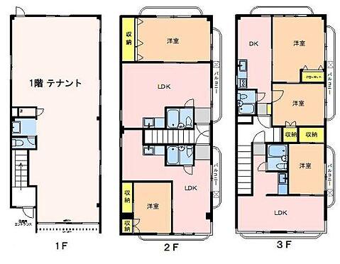 マンション(建物全部)-福生市加美平1丁目 間取り