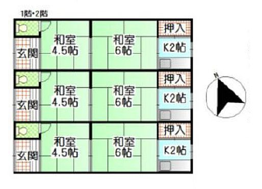 アパート-堺市西区浜寺石津町西4丁 間取り