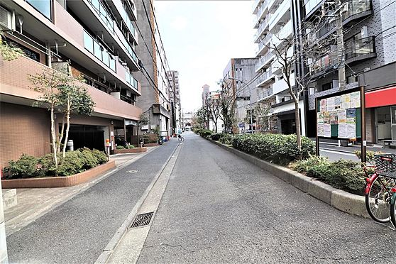 マンション(建物一部)-横浜市南区永楽町1丁目 前面道路