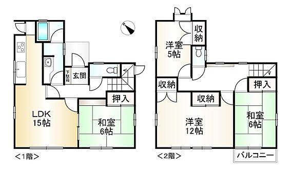 中古一戸建て-神戸市須磨区横尾2丁目 間取り