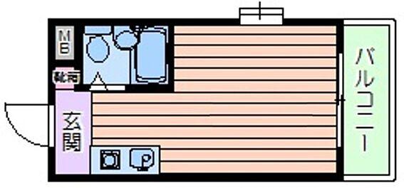 マンション(建物一部)-大阪市北区長柄中1丁目 ひとり暮らしに使い勝手のいいワンルーム。