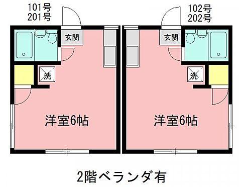 アパート-横浜市栄区飯島町 間取り